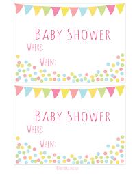 create a baby shower invitation best shower