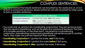 Simple Complex And Compound Sentences Worksheet Simple Compound And Complex Sentences Ppt Download