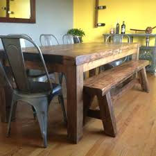 farm tables with benches garr dining table farmhouse style dining table with bench rustic