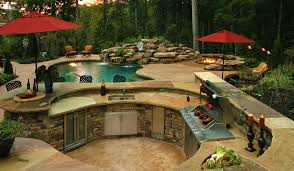outdoor kitchens pictures custom built outdoor kitchens bbq islands visit our showroom