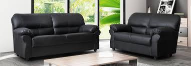 Leather Sofa Suite Deals Candy Corner Faux Leather Sofa Black Uk Sofas