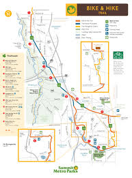 Silver Line Boston Map by Biking U0026 Hiking Trails In Summit County Summit Metro Parks