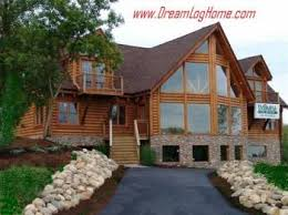 modular log homes hybrid log homes il plans prices in wi