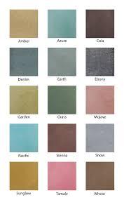 Stain Color Chart Concrete Coating Color Chart Z Aqua Tint Dye