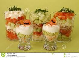 cuisine de a à z verrines appetizers verrines of salmon stock image image of salmon