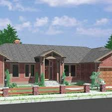 daylight basement homes custom ranch house plan w daylight basement and rv garage modular