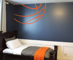 Basketball Room Decor Awesome Bedroom Design Sports Decor Football Themed Room Boys In