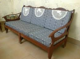 Wooden Frame Sofa Set Sofa Luton Double Bed Luxury Living Room Furniture Low Price
