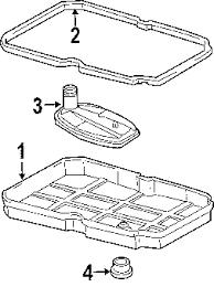 2007 dodge charger sxt accessories parts com dodge magnet transmission partnumber 68207788aa