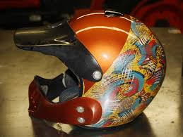 custom painted motocross helmets meech custom bicycles paint work on mx helmet