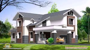 4 bedroom house plans in kerala double floor youtube