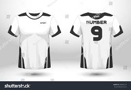 black white layout football sport tshirt stock vector 708659719