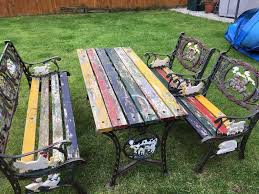 children u0027s cast iron bench set in hedon east yorkshire gumtree