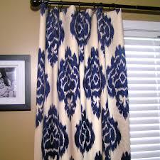 Blue Ikat Curtain Panels Ikat Curtains Choosing Blue Ikat Curtain Panels For House