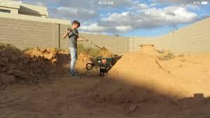 starting the new backyard dirt jumps youtube