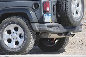 2018 jeep wrangler spy shots 2018 jeep wrangler jl with six speed manual transmission