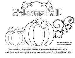 fall color page halloween religious coloring page coloring page