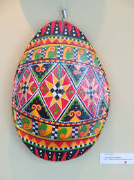 easter eggs anyone artist turns ukrainian tradition into expression