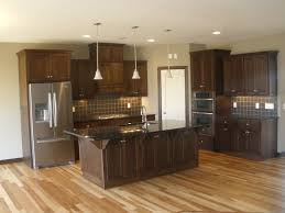 what color kitchen cabinets go with hardwood floors pin by ldk homes on kitchens hickory flooring walnut