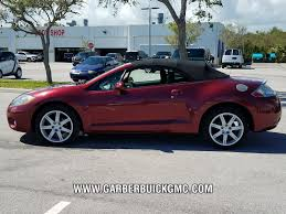 mitsubishi convertible pre owned 2007 mitsubishi eclipse spyder for sale in ft pierce