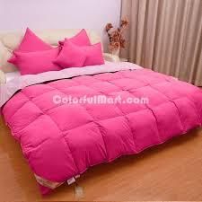 light pink down comforter deep pink and light pink goose down comforter 131227281003
