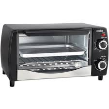 Toaster Oven Pizza Pan Cooks 4 Slice Toaster Oven