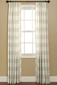curtains in buffalo check p kaufmann fabrics french country