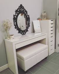 table comely updated vanity malm desk ikea alex drawers bella