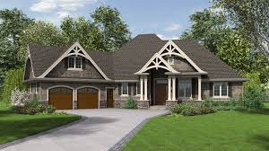 Single Story Ranch Homes Mascord House Plan 1248 The Ripley