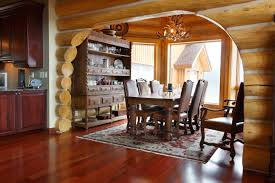 dining room the design of the dining room with natural brown