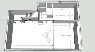 floor layout designer designing basement layout