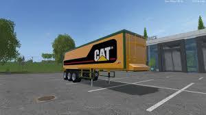 kenworth semi cat kenworth k100 and cat semi trailer pack ls15 farming
