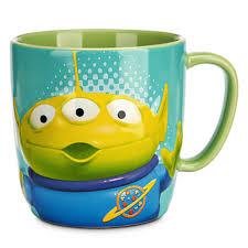 wdw store disney coffee cup mug toy story alien