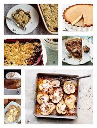 thanksgiving dessert ideas if pumpkin pie isn t your thing