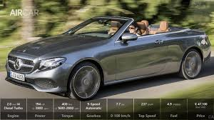 2018 mercedes e class cabriolet drive u0026 in motion youtube