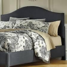 black upholstered headboard king home design ideas