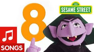 sesame street number 8 number song