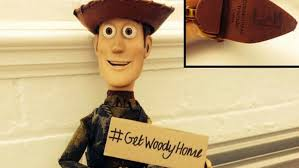 toy story u0027 woody doll lost highway inspires internet helpers