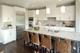 Stone Backsplash Kitchen by Glass And Stone Backsplash Spaces Traditional With Diagonal