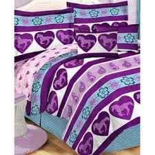 Girls Twin Bed In A Bag Country Living Purple U0026 Blue Girls Pony Horse Twin Comforter Set