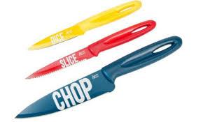 oliver kitchen knives oliver knife set 6 99 was 25 argos