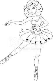 happy ballerina coloring pages kids design gal 1549 unknown