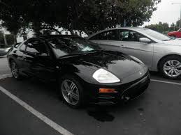 eclipse mitsubishi black auto body collision repair car paint in fremont hayward union city