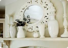 Kitchen Mantel Decorating Ideas Original Decoration Idea Hang A Mirror In The Kitchen Fresh