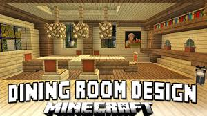 Dining Room Minecraft Tutorial How To Build A House Part 13 Dining Room