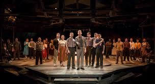 theater review october sky marriott theatre in lincolnshire