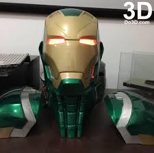 3d printable suit thanos and iron man mark xlvi fusion armor