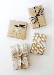 gift wrap four diy gift wrap ideas wraps gift and brown paper