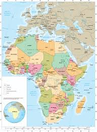 africa map islands changing map of africa africa 1917 and now world book