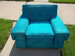 Turquoise Lounge Chair Funky Mid Century Kroehler Turquoise Lounge Chair Sold Gatyo Retro